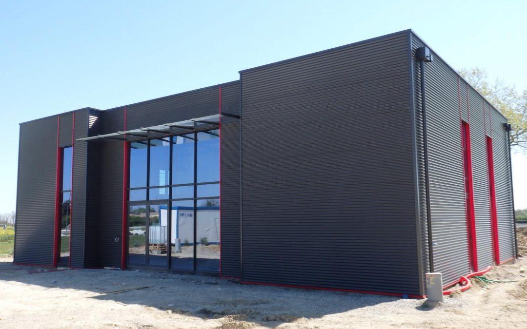 Construction d'un bureau d'études d'exécution
